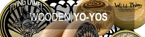 Wooden Yo-yos