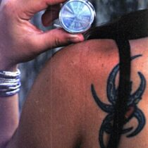 Pocket Rocket Tattoo lady